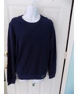Aeropostale Navy Blue  Long Sleeve Crew Sweatshirt Size M Men's NEW - $20.75