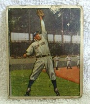 Phil Rizzuto 1950 Bowman Fielding the Ball Pose Card#11 G Condition-Yank... - $79.19