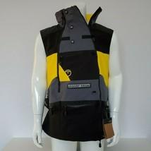 The North Face Steep Tech Apogee Waterproof Hood Ski Vest Yellow/Black S L - $169.97