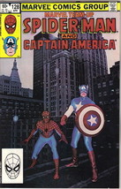 Marvel Team-Up Comic Book #128 Spider-Man and Captain America 1983 VERY FINE- - $2.50