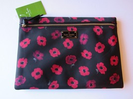 Kate Spade New York Large Drewe Pouch/Clutch-Wilson Road-Mini Poppy -- NWT - £30.56 GBP
