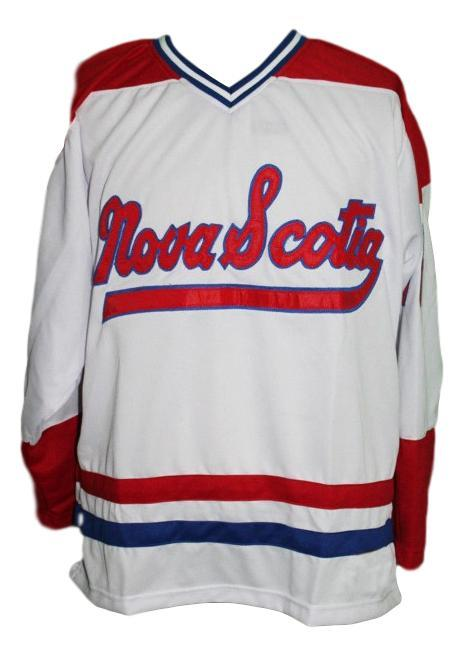 Nova scotia voyageurs hockey jersey white   1