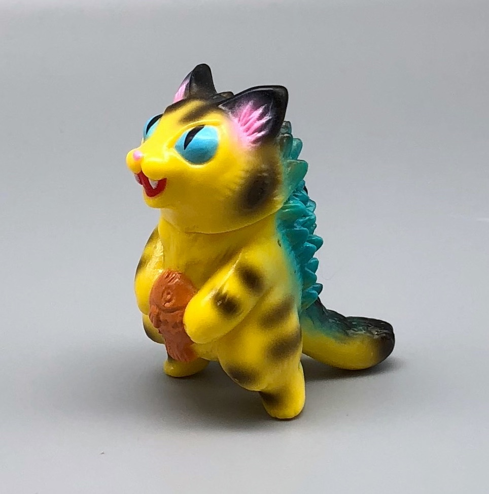 Max Toy Yellow Tiger Micro Negora - Blue Eyes