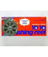 12 Mechanical Fisher's Yo Yo Fishing Reels Flat Trigger Model - $34.83