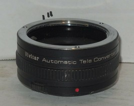 Vivitar Automatic Tele Converter 2X-21 Lens Made in Japan - $42.08