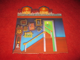 1993 - 13 Dead End Drive Board Game Piece: Left Wall - $3.00