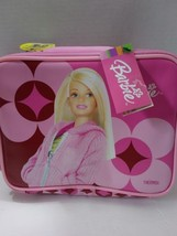 Barbie Soft Side Thermos Lunch Box with Carry Handle and Shoulder Strap  - $21.99
