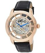Invicta Men's Vintage Stainless Steel Automatic-self-Wind Watch with Lea... - $225.99