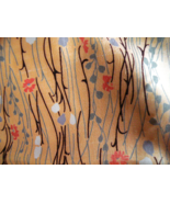 100% Silk Fabric for Sewing. Hand Woven Beautiful Print. 4 Yards Thai Silk - $125.00