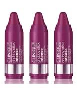 Clinique Chubby Stick Intense Lip Colour Balm Roundest Raspberry - Lot o... - $19.98