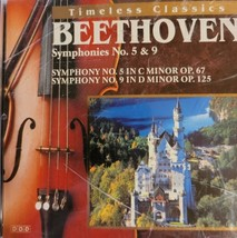 Beethoven Timeless Classics Symphonies 5 & 9 Cd image 1