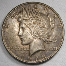 1923-D Peace Silver Dollar XF Coin AF854 - $28.96