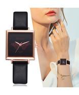 Lvpai® Watches Women Vintage Square Leather Strap Casual Quartz Ladies F... - $5.41