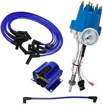 Ford SB Windsor Pro Series R2R Distributor 289/302W, V8 8.0mm Spark Plug Kit image 1