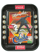 Coca-Cola Commemorative Memphis Chicks Baseball Tray Issued 1984 - $14.85