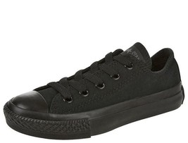 Converse Kids Sneakers Chuck Taylor All Star All Black Athletic Youth 31... - $22.50