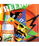 Stolichnaya Orange Flavored Russian Vodka 1994 Print AD Wild Man Target ... - $14.99