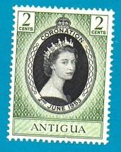 Antigua Mint Postage Stamp (1953) Coronation of Queen Elizabeth II - Sco... - $2.99