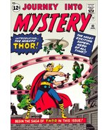 THOR / Journey Into Mystery #83 Comic Cover Stand-Up Display - $15.99