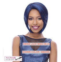IT'S A WIG SWISS LACE FRONT WIG SWISS LACE MISS DEJA COLOR: SMDKPU