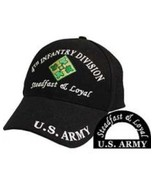 4th Infantry Division Ball Caps for Vets - $18.99