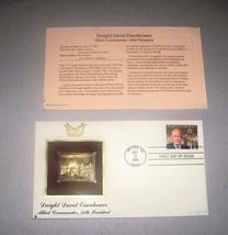 STAMP: Dwight David Eisenhower PCS First Day Issue - $2.99