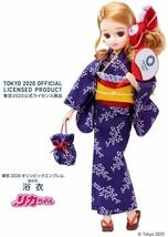 Licca chan Doll YUKATA Tokyo Olympic Blue Official TAKARA TOMY Limited Y... - £39.37 GBP