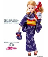 Licca chan Doll YUKATA Tokyo Olympic Blue Official TAKARA TOMY Limited Y... - $54.45
