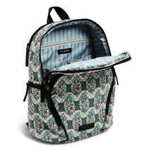 Vera Bradley Quilted Signature Cotton Hadley Backpack, Paisley Stripes image 4