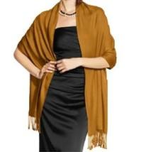 Inc International Concepts Satin Pashmina Wrap Camel - $12.86