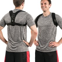 Adjustable Posture Corrector Back Braces: Correct Slouching with Figure 8 Clavic image 2