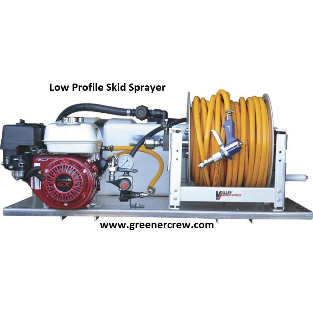 50 Gallon Skid Sprayer Low Profile Chemical Resistant  - $3,026.00