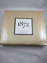 Bloomingdales 1872 Solid 700TC King Fitted Sheet 100% Egyptian Cotton Camel - $79.19