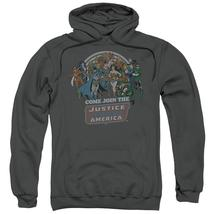 Dc - Join The Justice League Adult Pull Over Hoodie Officially Licensed ... - $36.99+