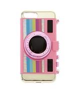Claire's Girl's Pink Retro Camera Phone Case - 6/7/8+ - $15.09