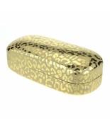 PASTL Sunglasses & Glasses Protective Hard Case Rectangular Leopard Print - $10.89