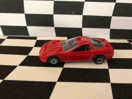 Maisto 1/64 1997 Chevrolet Chevy Corvette Red Regular Wheels - $2.96
