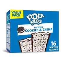 Pop-Tarts,  Toaster Pastries, Cookies and Crème,  16 Ct - $7.00
