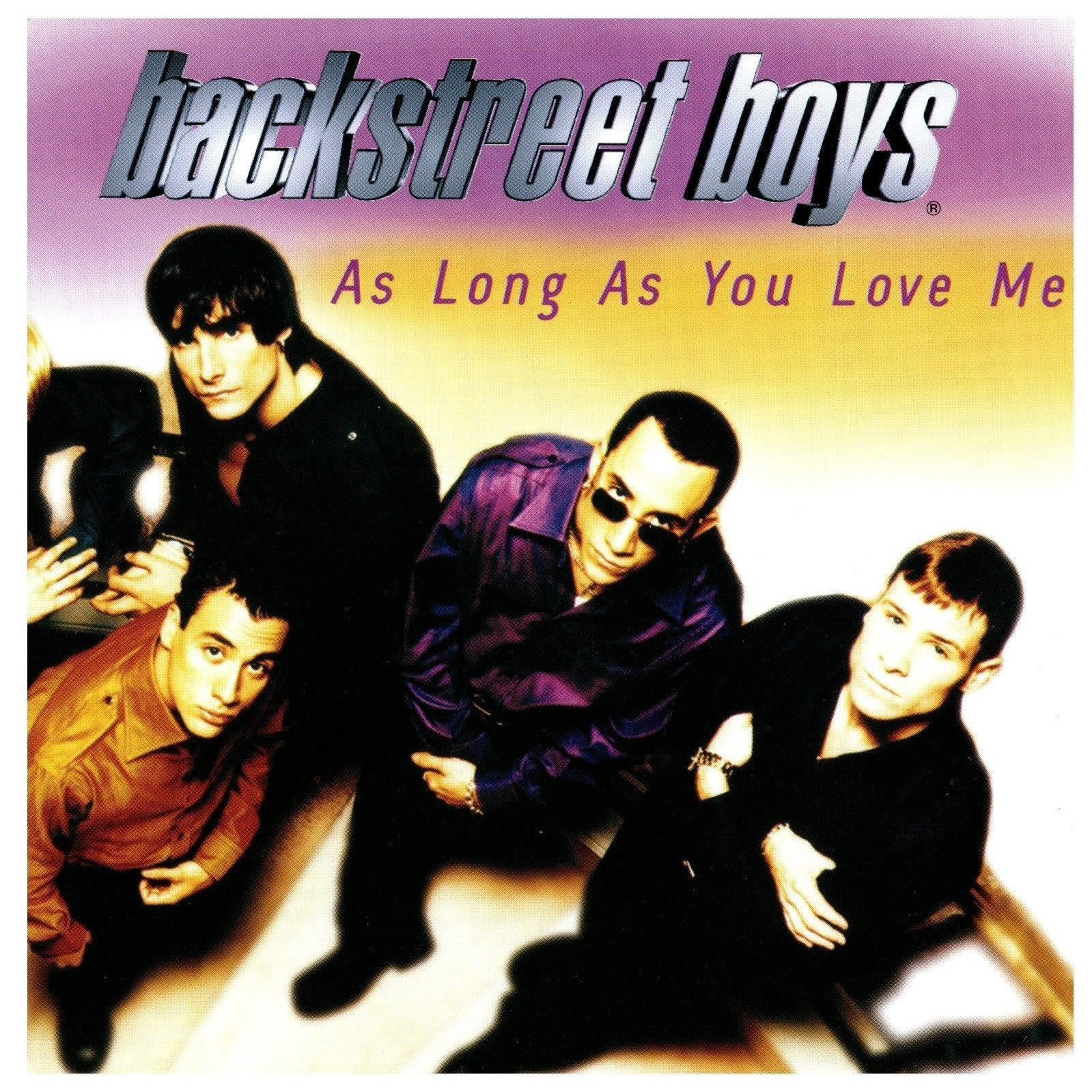 Primary image for As Long As You Love Me by Backstreet Boys CD Single