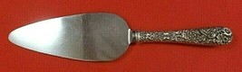 """Repousse by Kirk Sterling Silver Cake Server HH with Stainless Original 10"""" - $59.00"""