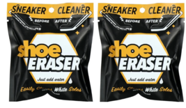 2 pack ~SNEAKER CLEANER Shoe Eraser Easily Cleaner just add water~NEW~ - $6.68