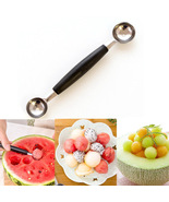 FREE Stainless Steel Double Ended Mellon Ball Scoop - $0.00