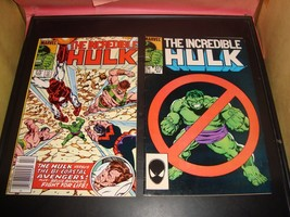 Incredible Hulk #316 & #317 Marvel Comic Book Lot Of 2 1986 VF Condition - $5.39