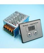 LED-Display AC 220 V 4000 Watt SCR Voltage Controller Light Dim Dimmer T... - $25.48
