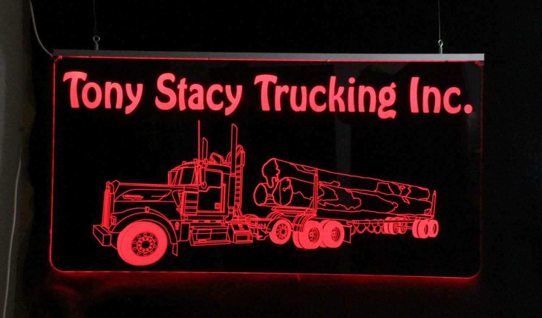 Custom Logging Truck Sign, Garage Sign,  Man Cave Sign image 7