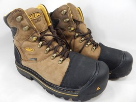 Keen Milwaukee Insulated Size 9.5 M (D) EU 42.5 Men's Steel Toe Work Boots Brown