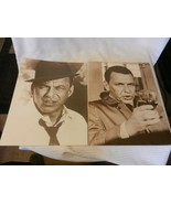 Pair of Frank Sinatra Black & White Prints With Drink & Hat 11 x 14 - $37.13