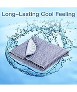 Marchpower Cooling Blanket [Latest Cool-to-Touch Technology], Breathable... - $37.78