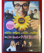 THE LIFE & DEATH OF PETER SELLERS- DVD- MOVIE-CHARLIZE THERON-NEW- FREE SHIPPING - $9.99