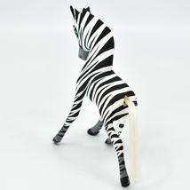 Handmade Alebrijes Oaxacan Copal Wood Carving Folk Art Zebra Horse Figure image 3